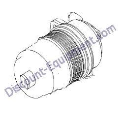 866068GT PERKINS 135326205 AIR filter element for Terex