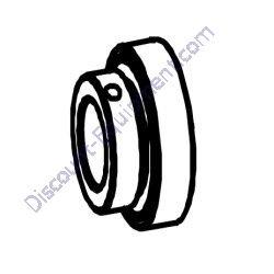 0000BA20824 Drum Trunnion Bearing w/o Grease Fitting TK