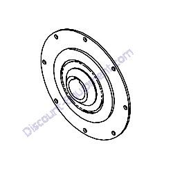 21425 04100 Coupling complete Airman PDS185S-6E1 Air