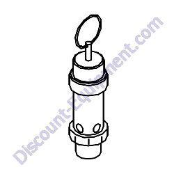35200 14100 Safety valve assy Airman PDS185S-6E1 Air