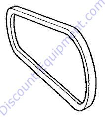 EM505834 V-Belt A-36 for Honda 8HP Engines on Essick EM70