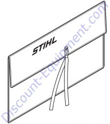 4130 893 7800 Locking pin for Stihl TS700 & TS420