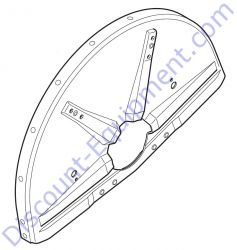 For Older Units 4224 700 8103 Guard 350 mm / 14'' for