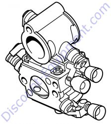 4238 120 0600 Carburetor C1Q-S118D for Stihl TS420