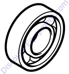4238 760 8500 Poly V-belt pulley for Stihl TS420