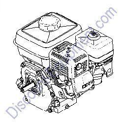 125-4812 (ST30155) Engine 8hp Honda for Toro/Stone Mixers