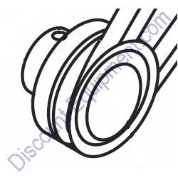 492067 DRIVE PULLEY for Whiteman Concrete Mixers