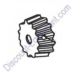 501796 DRIVE PINION for Whiteman Concrete Mixers