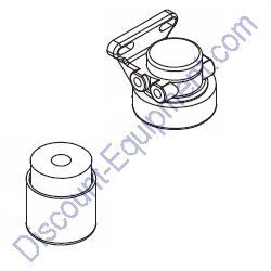 17641 Fuel filter head & element (new) for Magnum Light