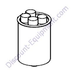 36980 Capacitor, 25uF, 5% 440VAC, sealed stud mount for