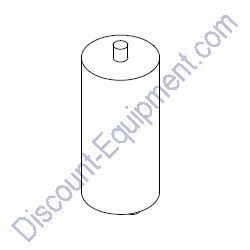 10000024477 (65959) Capacitor, dual 24uF sealed stud mount