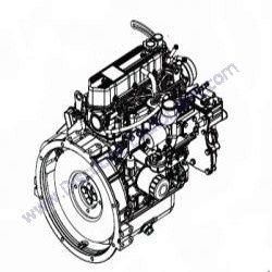 10000023037 (17647) Element, fuel filter (new) for Magnum
