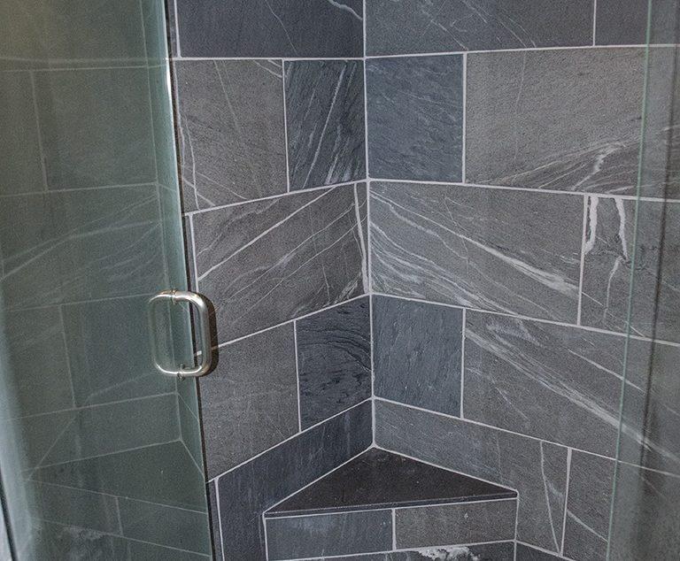 Image Result For Slate Tile Bathroom Ideas