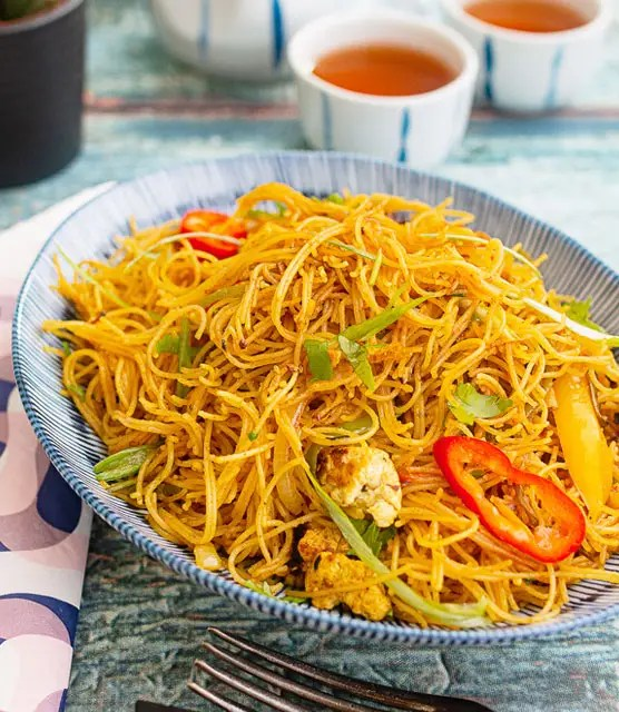 Vegan Singapore noodles – K33 Kitchen