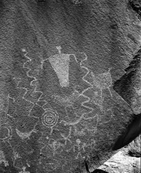 Petroglyphs - Cedar Mesa