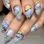 Marble Nail Art Designs 1 K4 Fashion