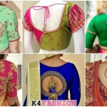 Heavy Saree Blouse Back Neck Designs To Rock At Functions K4 Fashion