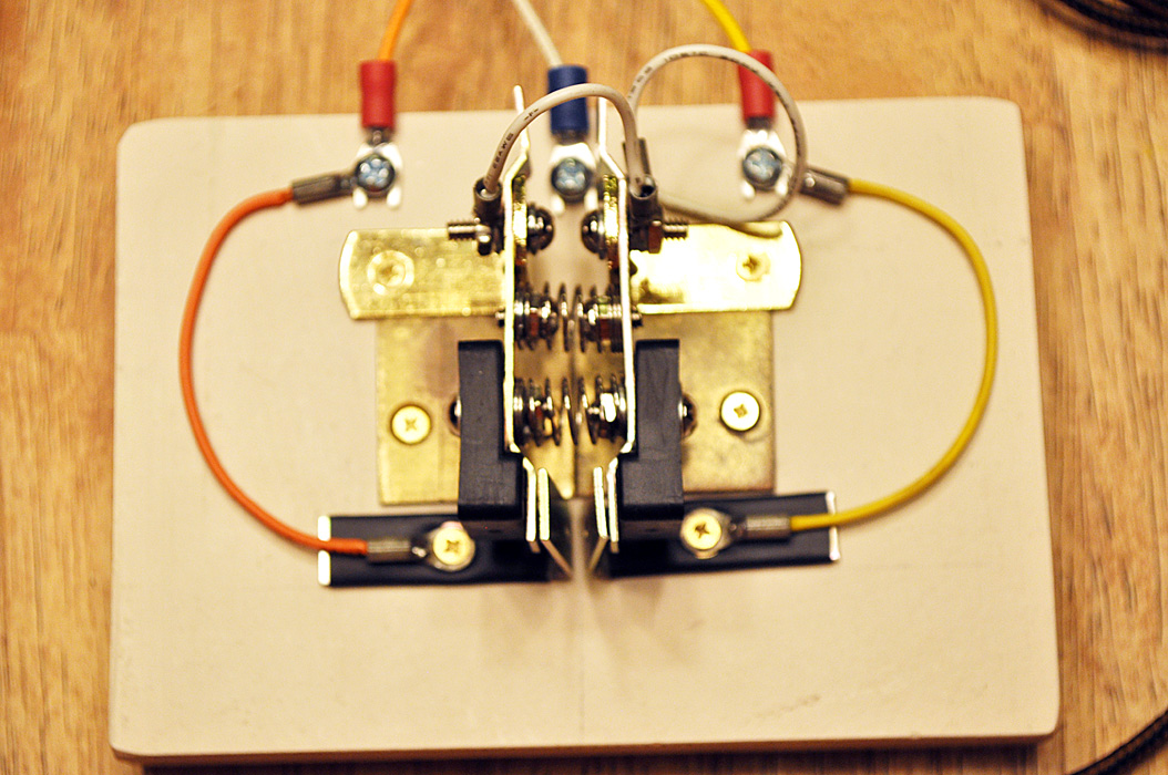 For Home Stereo Wiring Schematic K4icy S Home Brew Cw Paddle