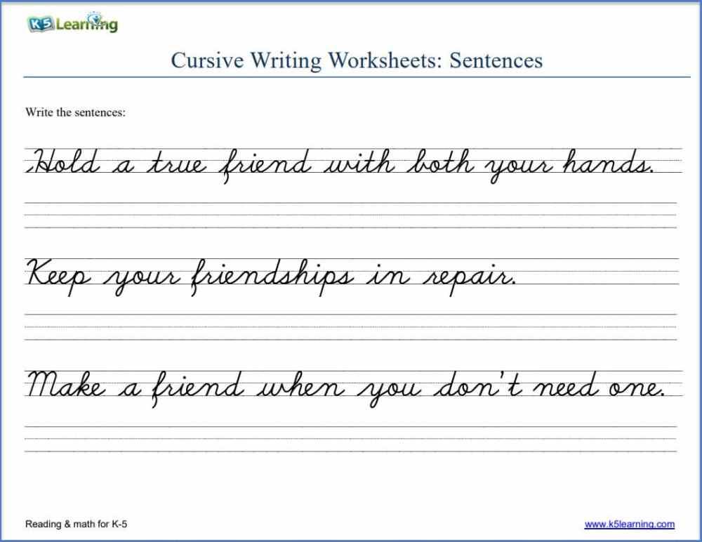 medium resolution of cursive writing worksheets   K5 Learning