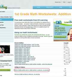 K5 Learning Launches Free Math Worksheets Center   K5 Learning [ 865 x 1001 Pixel ]