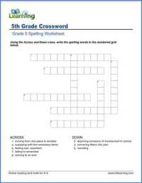 Spelling Worksheets For 5th Grade - popflyboys
