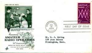 Amateur Radio First Day Cover --- Emergency Services