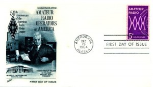 Amateur Radio First Day Cover --- Hiram Percy Maxim