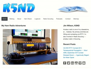 Original Home Page.