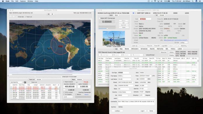 MacDoppler and MacLoggerDX at K5ND