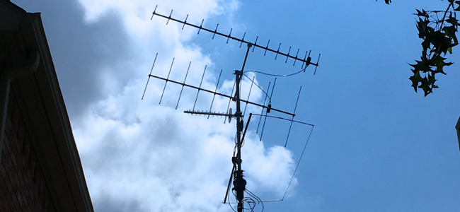 Satellite Antennas for Fall 2017