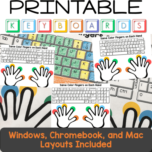 small resolution of Typing Practice Printable Keyboard Pages - Technology Curriculum