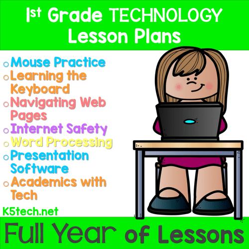 small resolution of 1st Grade - Technology Curriculum