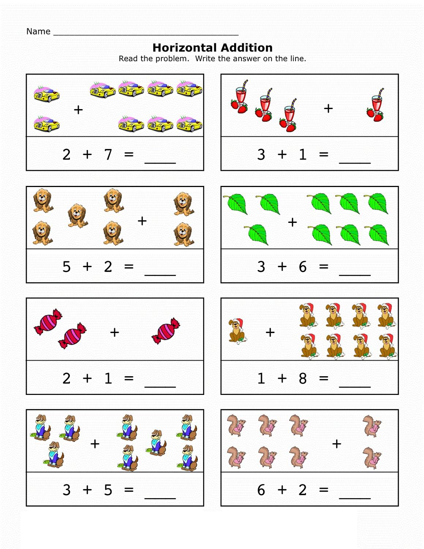 Math Worksheet Fun Addition