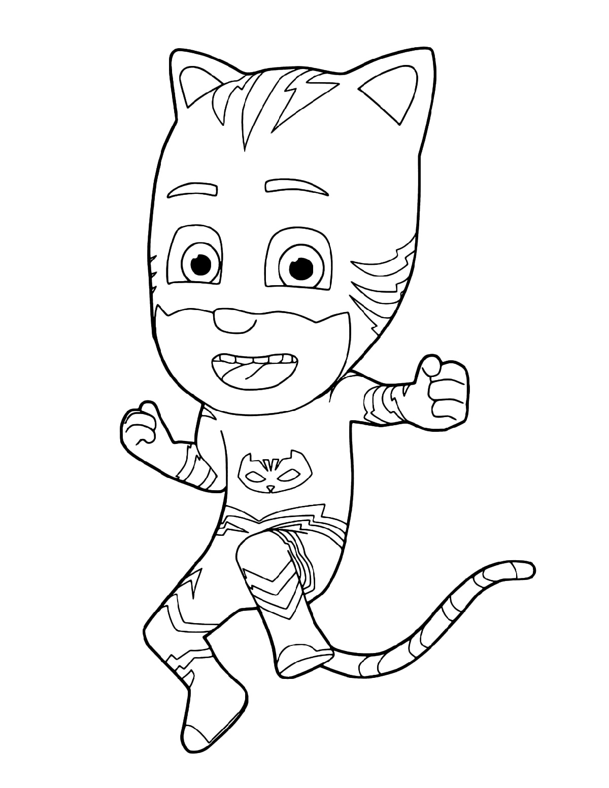 Pj Masks Coloring Printable