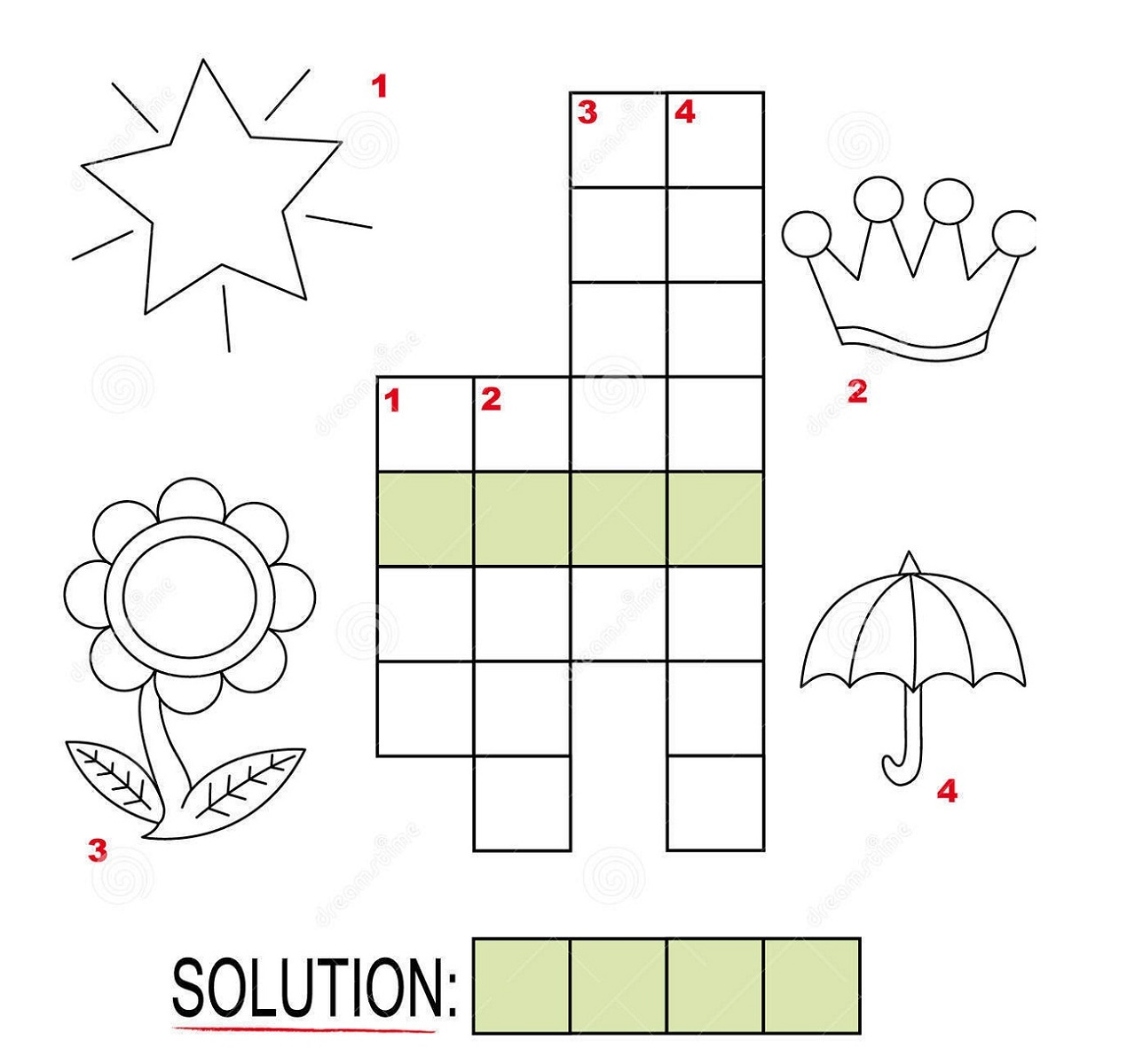 Children Printable Puzzles