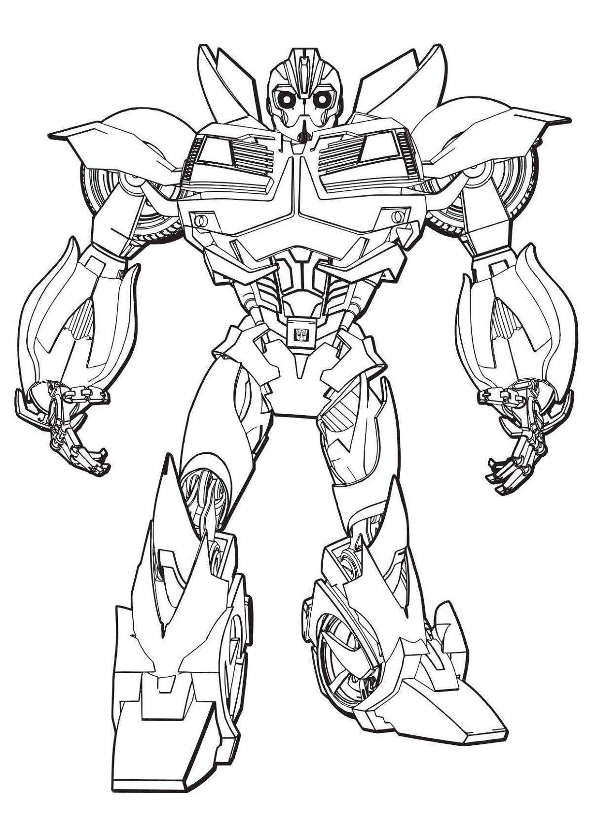 Worksheet Bumble Bee Transformers