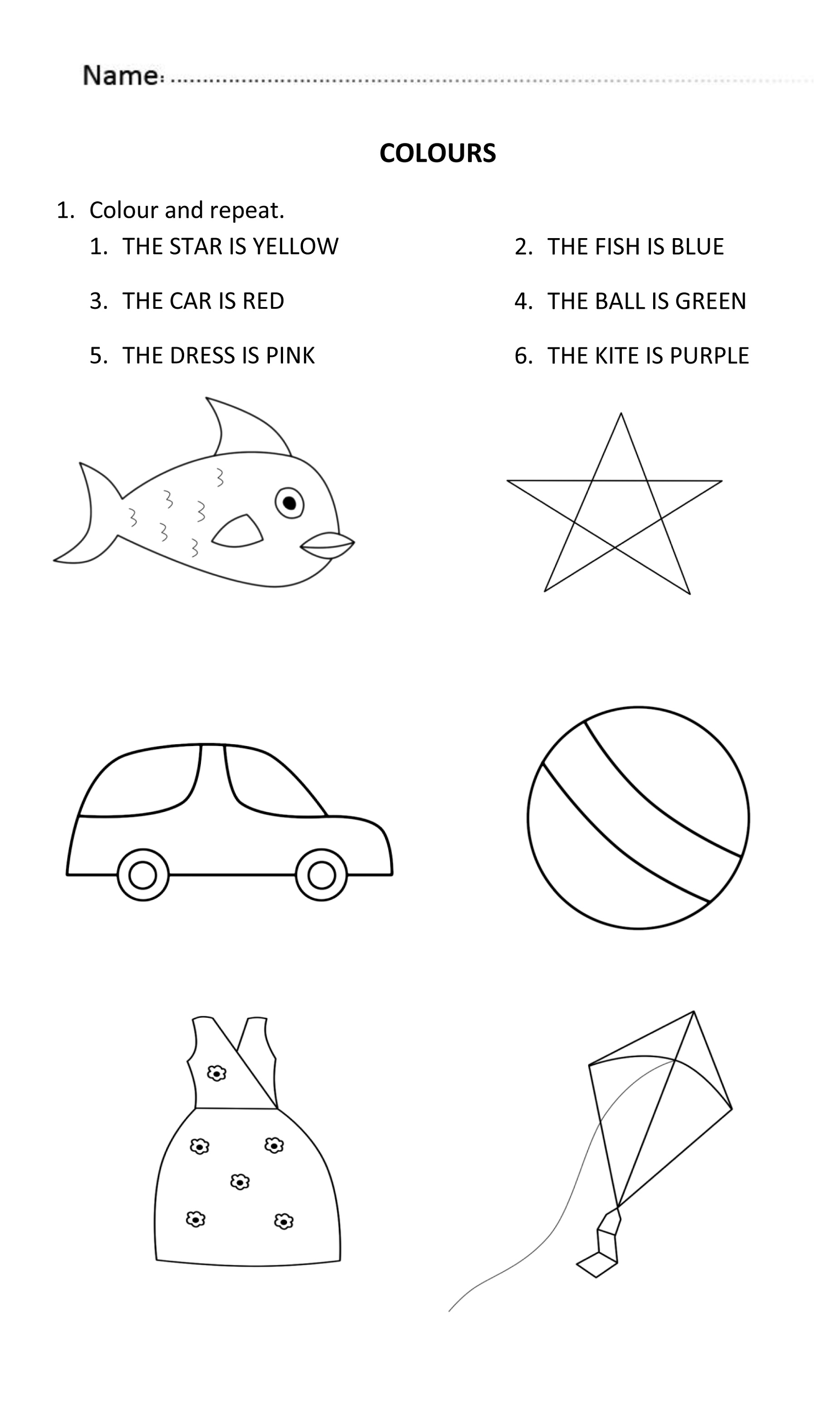 Worksheets For 6 Year Olds To Print