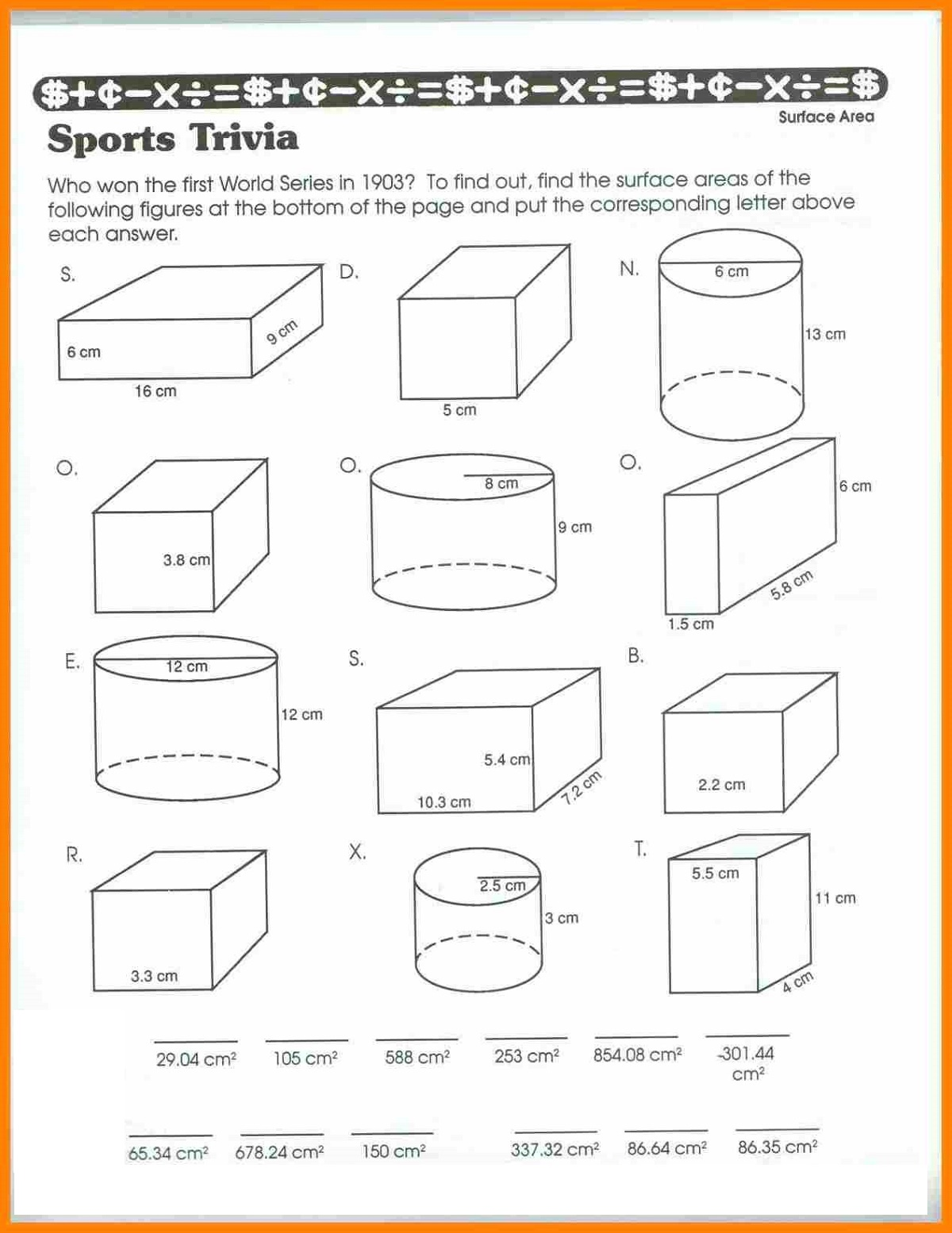 5th Grade Worksheets For Learning
