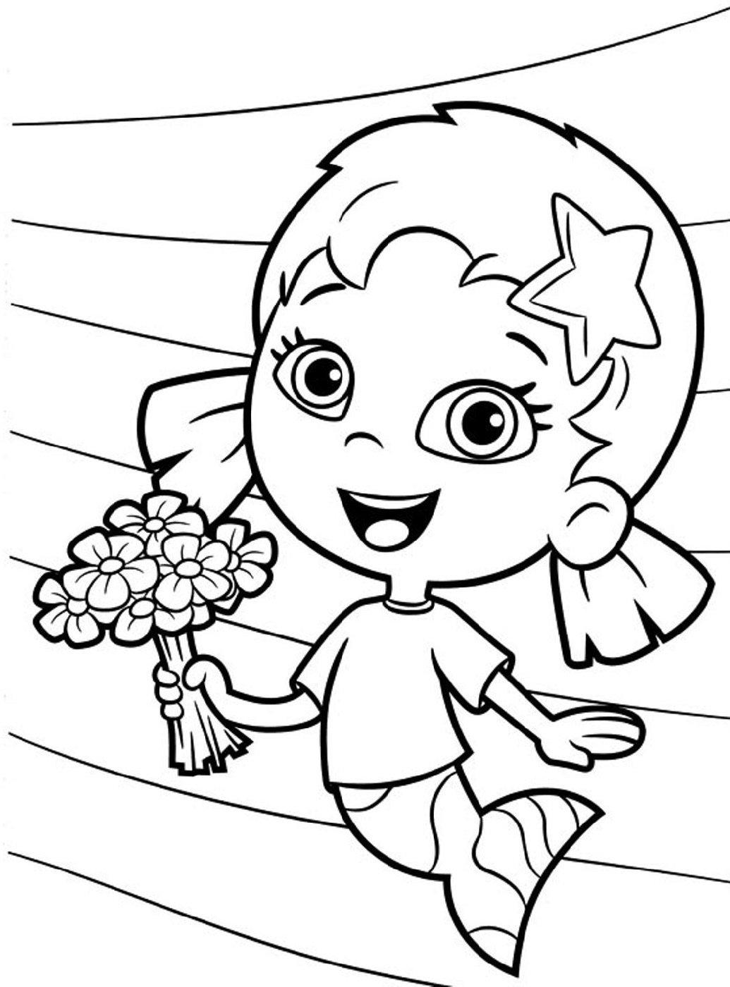 Bubble Guppies Coloring Pages For Students