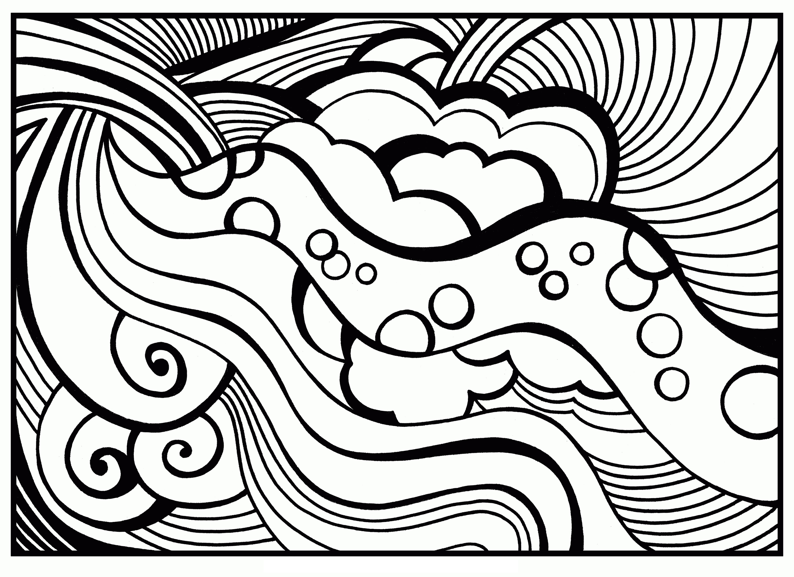 Coloring Sheets For Teens Printable