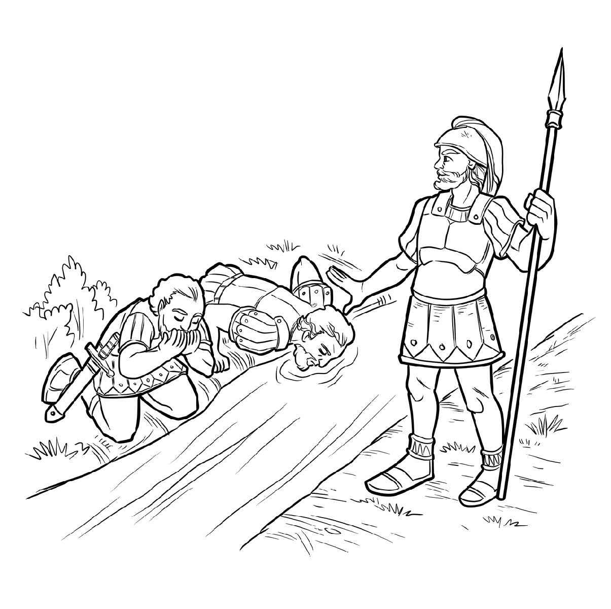 Gideon Coloring Pages For All Generations