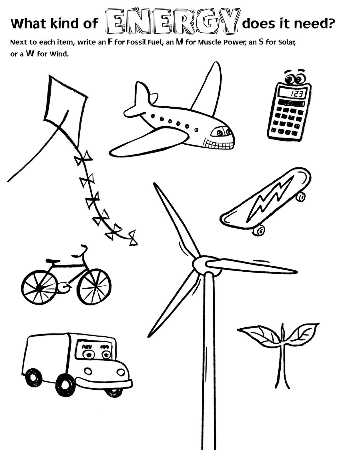 Elementary Worksheets Science
