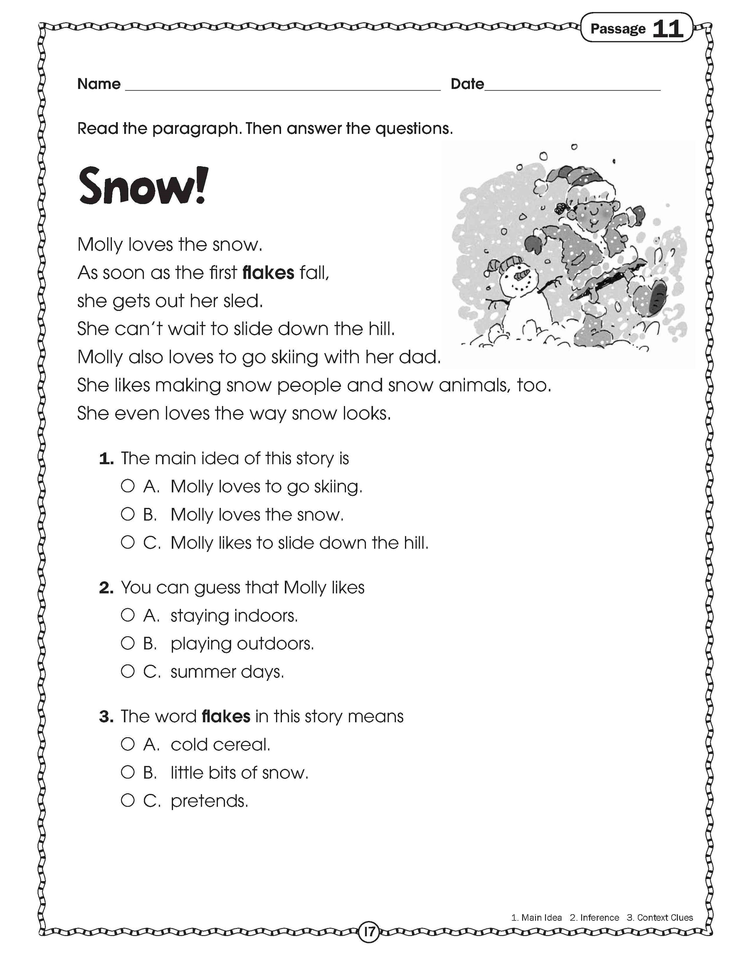 Free Science Worksheet Elementary