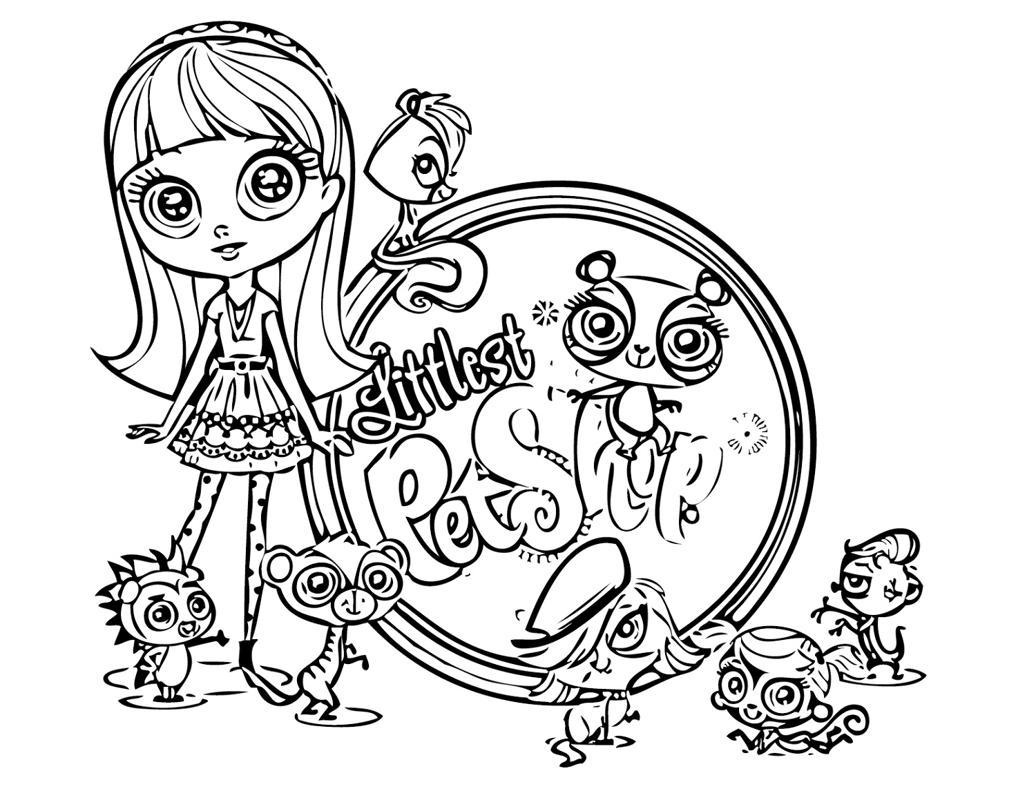 Littlest Pet Shop Coloring Pages For All Ages