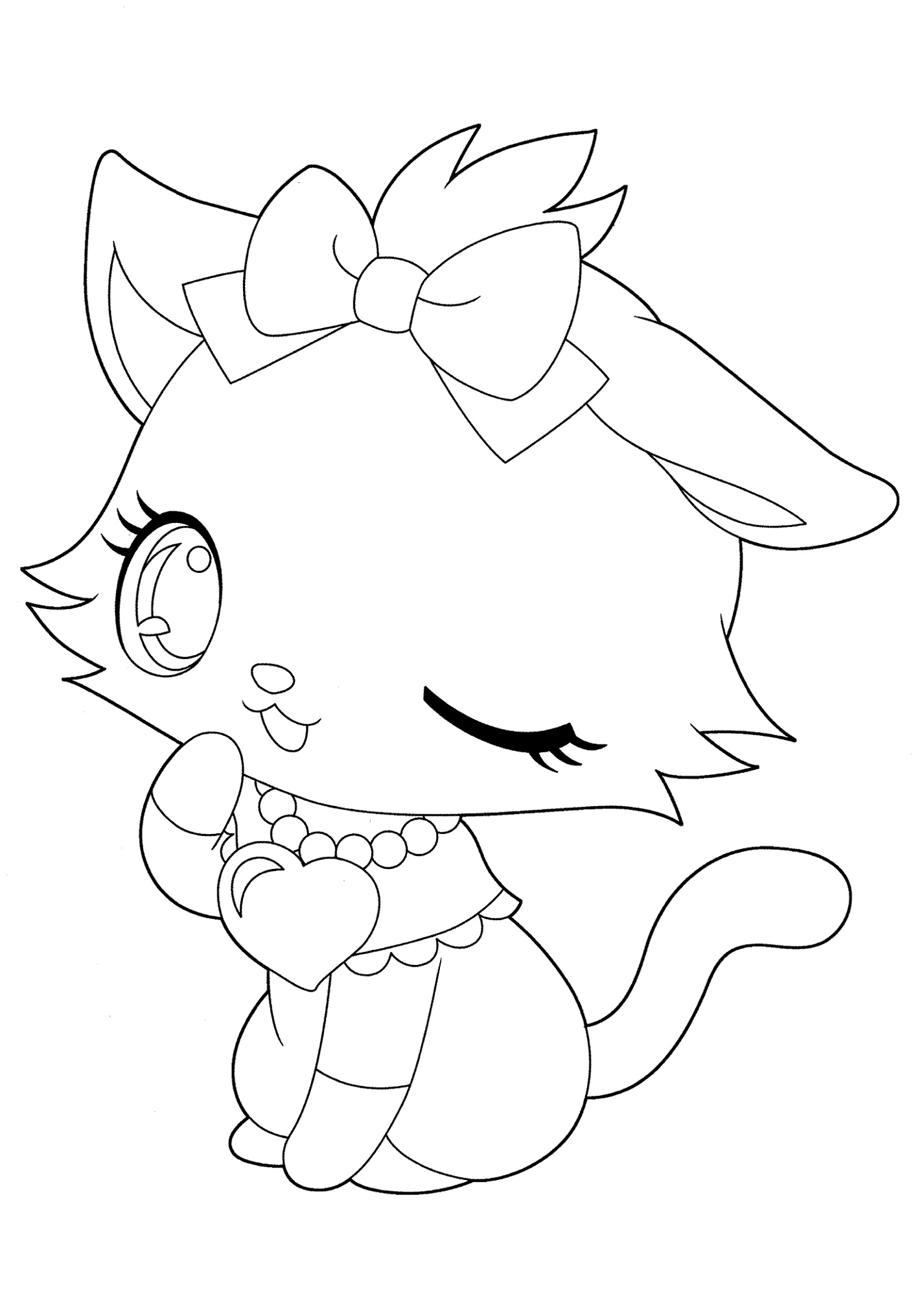 Cute Animal Coloring Pages Small