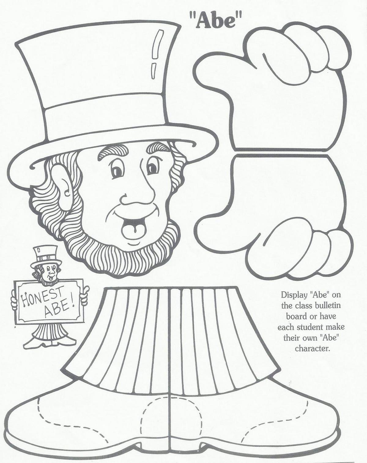 Dltk Crafts Lincoln Washington