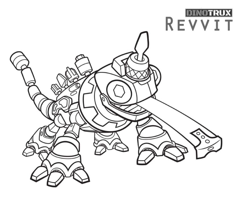 dinotrux coloring pages fighting for all ages  k5 worksheets