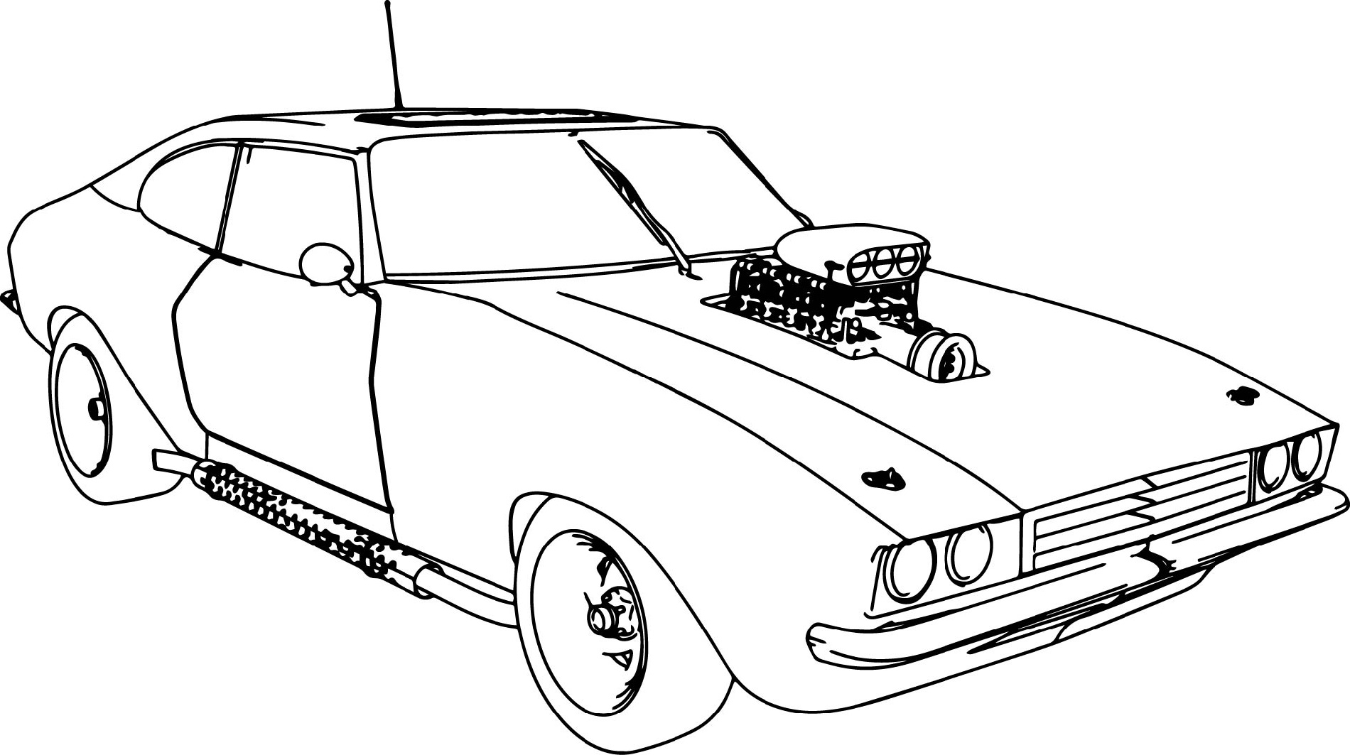 Fast And Furious Coloring Pages For Car Lovers