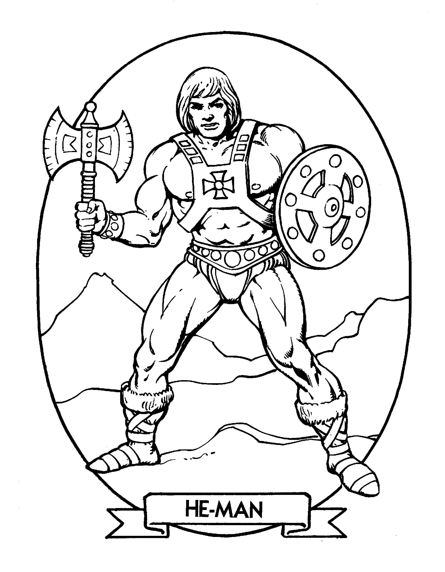 He Man Coloring Pages Catra
