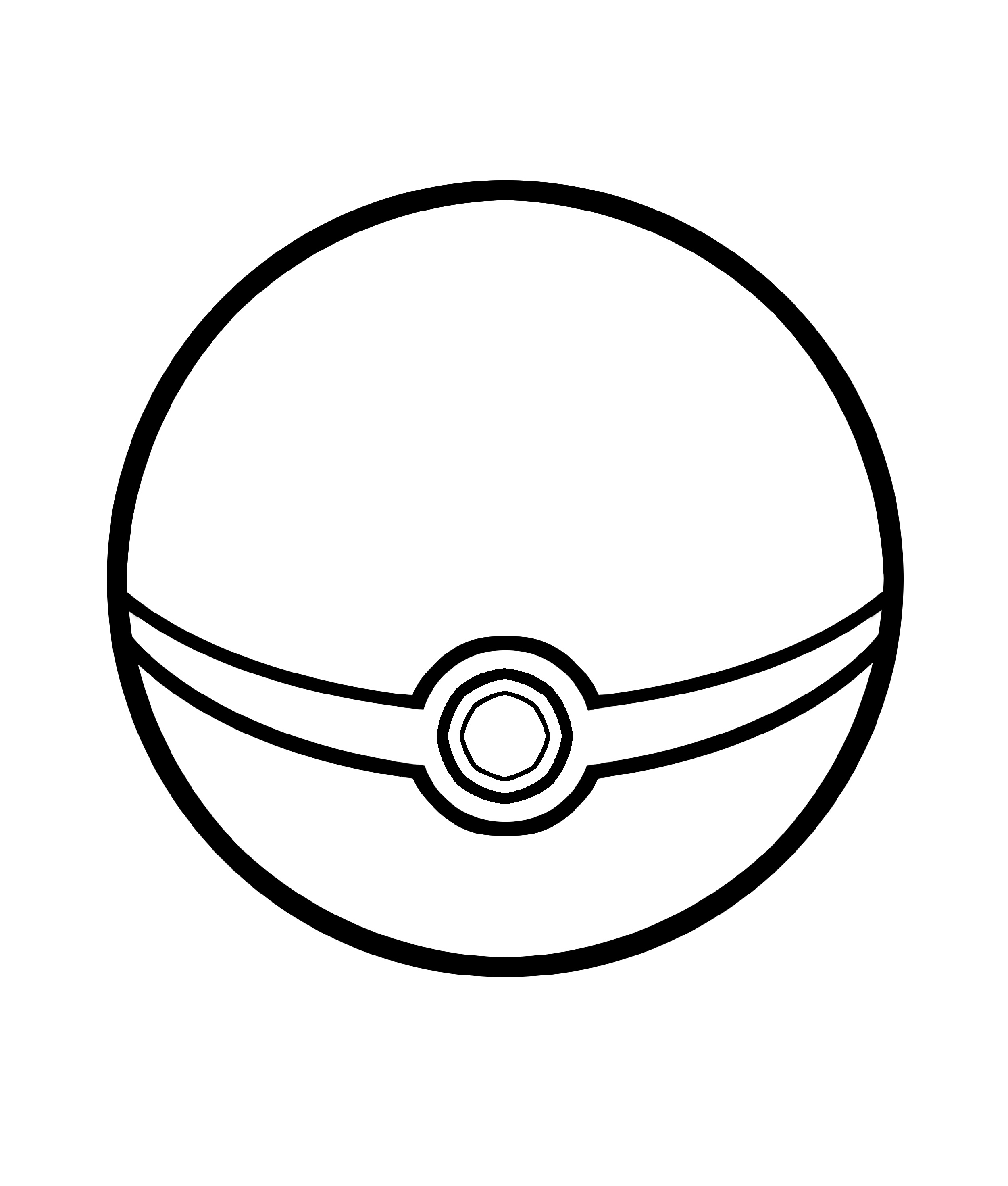 Pokeball Coloring Pages Free